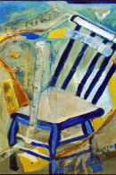 YELLOW CHAIR IN STUDIO